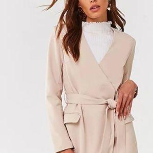 """Dresses & Skirts - Blazer mini-dress (model is 5-10"""" wearing a small)"""